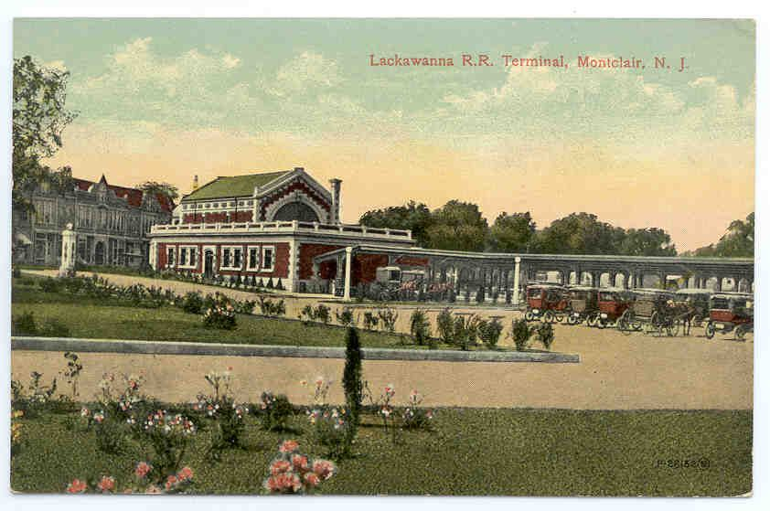 Postcard of Lackawanna Station circa early 1900s